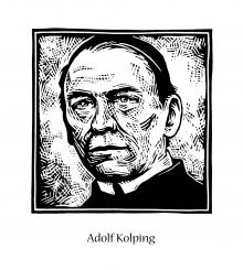 St. Adolf Kolping by Julie Lonneman