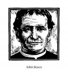 St. John Bosco by Julie Lonneman
