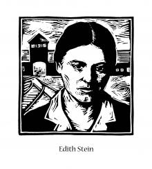 St. Edith Stein by Julie Lonneman