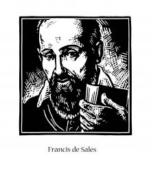 St. Francis de Sales by Julie Lonneman
