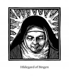 St. Hildegard of Bingen by Julie Lonneman