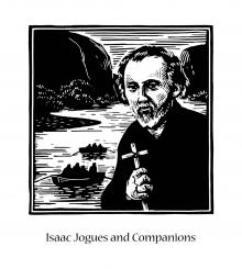 St. Isaac Jogues and Companions by Julie Lonneman