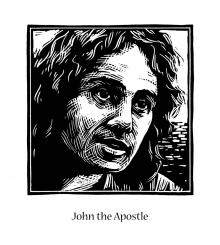 St. John the Apostle by Julie Lonneman