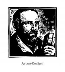 St. Jerome Emiliani by Julie Lonneman