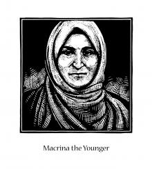 St. Macrina the Younger by Julie Lonneman