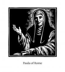 St. Paula of Rome by Julie Lonneman