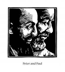 Sts. Peter and Paul by Julie Lonneman