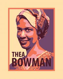 Sr. Thea Bowman by Julie Lonneman