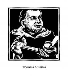 St. Thomas Aquinas by Julie Lonneman