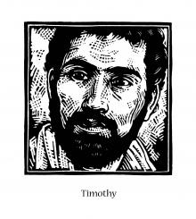 St. Timothy by Julie Lonneman