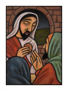 Lent, Last Supper - Passion Sunday  by Julie Lonneman