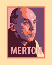 Thomas Merton by Julie Lonneman