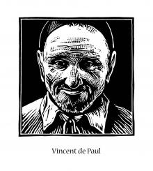 St. Vincent de Paul by Julie Lonneman