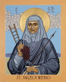 St. Angela Merici                 by Lewis Williams, OFS