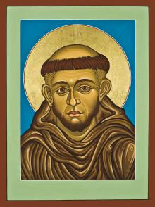 St. Francis of Assisi by Lewis Williams, OFS