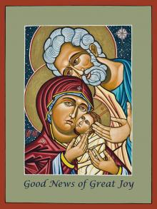 Christmas Holy Family by Lewis Williams, OFS
