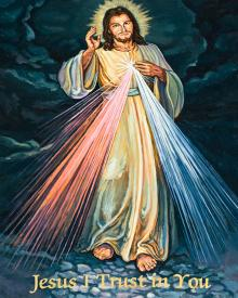 Divine Mercy by Lewis Williams, OFS