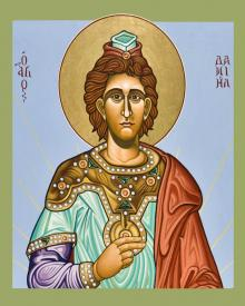 St. Daniel the Prophet by Lewis Williams, OFS