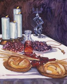 Communion by Lewis Williams, OFS