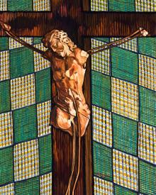 Fr. Tom's Crucifix by Lewis Williams, OFS