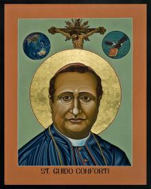 St. Guido Maria Conforti by Lewis Williams, OFS
