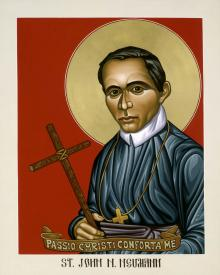 St. John Nepomucene Neumann by Lewis Williams, OFS