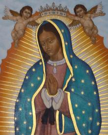Our Lady of Guadalupe Crowned by Lewis Williams, OFS