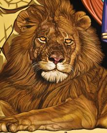 Lion of Judah by Lewis Williams, OFS