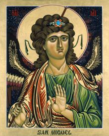 St. Michael Archangel by Lewis Williams, OFS