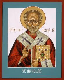 St. Nicholas by Lewis Williams, OFS
