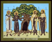 Patrons of the AIDS Pandemic by Lewis Williams, OFS