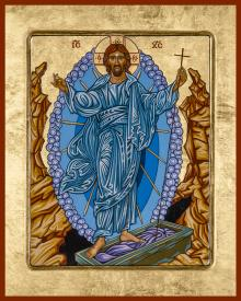 Resurrection of Christ by Lewis Williams, OFS
