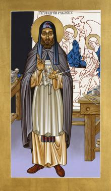 St. Andrei Rublev by Lewis Williams, OFS