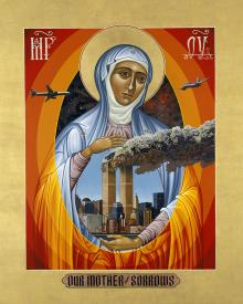 Mater Dolorosa - Mother of Sorrows by Lewis Williams, OFS