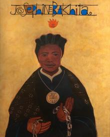 St. Josephine Bakhita by Br. Mickey McGrath, OSFS