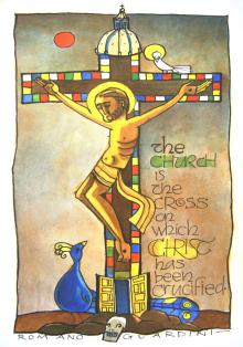 Church Cross by Br. Mickey McGrath, OSFS