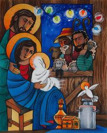 Christmas Light by Br. Mickey McGrath, OSFS