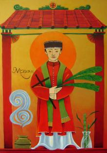 St. Andrew Dung-Lac  by Br. Mickey McGrath, OSFS