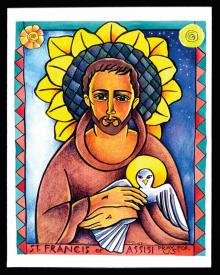 St. Francis of Assisi by Br. Mickey McGrath, OSFS