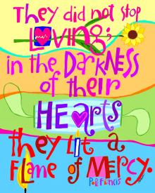 Flame of Mercy by Mickey McGrath, OSFS