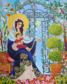 Mary, Gate of Heaven by Br. Mickey McGrath, OSFS