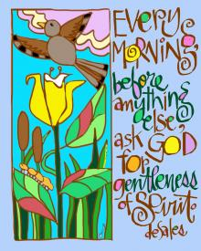 Gentleness of Spirit by Br. Mickey McGrath, OSFS