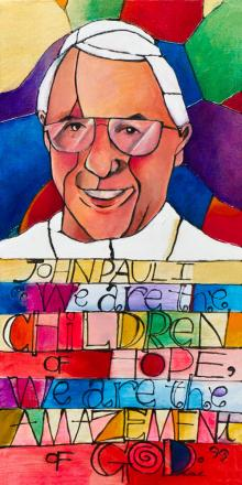 Pope John Paul I by Br. Mickey McGrath, OSFS
