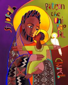 St. Joseph Patron of Universal Church by Br. Mickey McGrath, OSFS