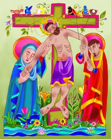 Jesus: Tree of Life by Br. Mickey McGrath, OSFS