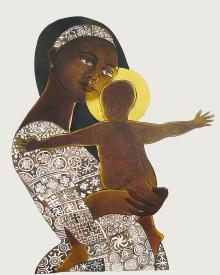 Mary, Mother of God by Br. Mickey McGrath, OSFS