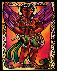 St. Michael Archangel by Br. Mickey McGrath, OSFS