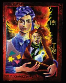 Madonna of the Holocaust by Br. Mickey McGrath, OSFS