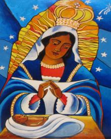 Our Lady of Altagracia by Br. Mickey McGrath, OSFS