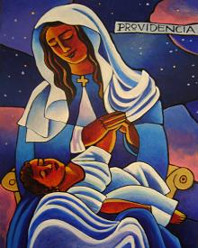 Our Lady of the Divine Providence by Br. Mickey McGrath, OSFS